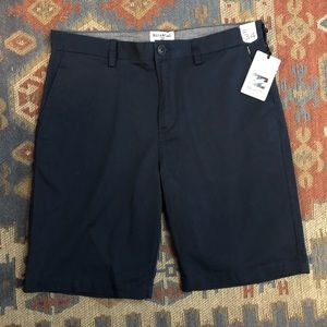 Billabong navy blue shorts size 34